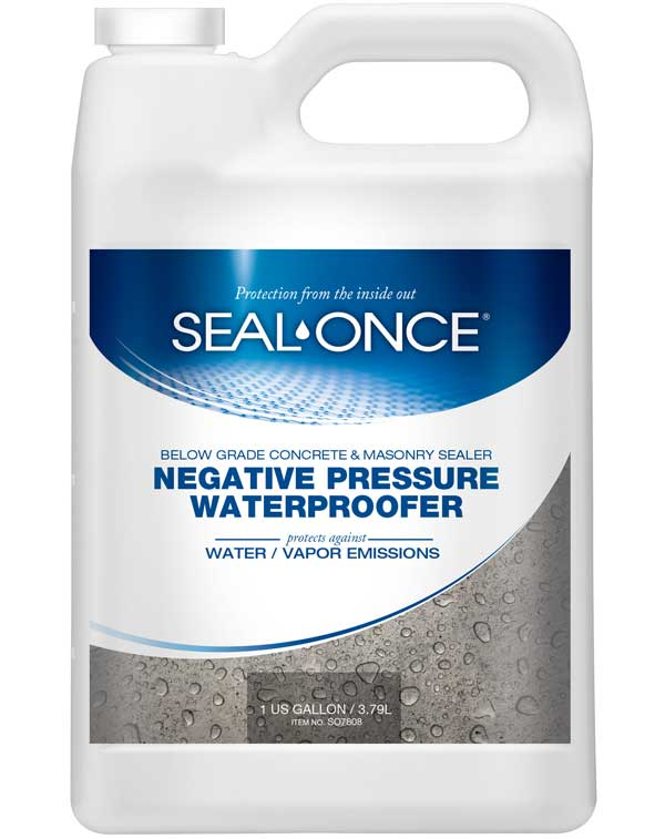 Negative Pressure Waterproofer