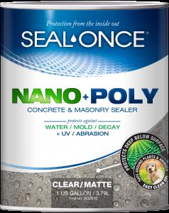 seal once nanopoly concrete and masonry sealer- Masonry Sealer