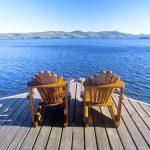 wood dock lake george- marine sealer