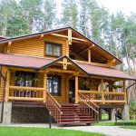 log home 2- penetrating wood sealer and wood stain